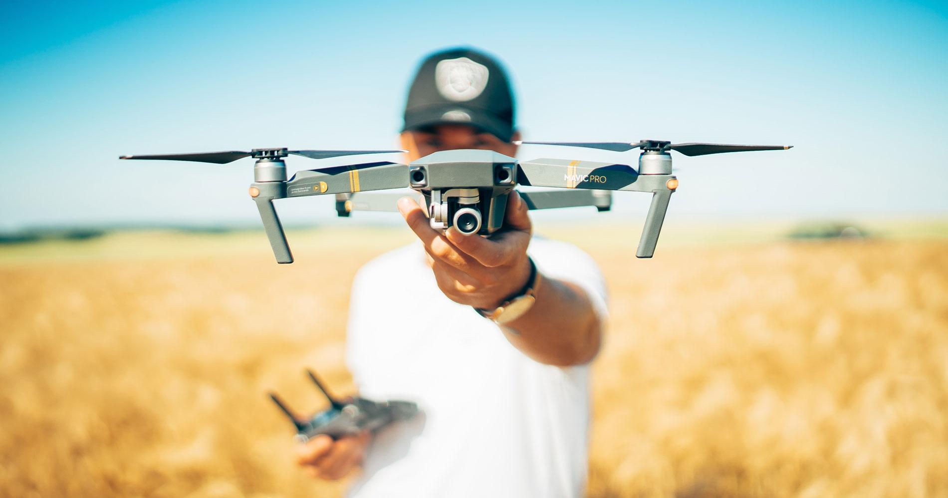 Mavic Pro Platinum Drone with a 4K camera
