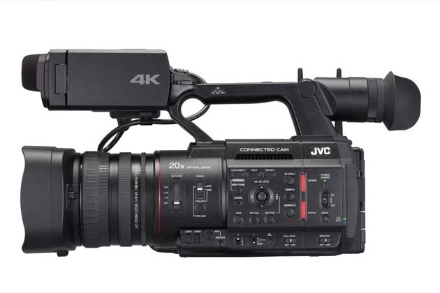 JVC GY-HM550 Connected Cam